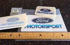 "Shelby Boss 429 Vintage ""Ford Motorsport"" Lapel Pin Patch Decal Set Mint | eBay"