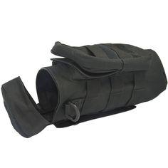 Outdoor Sport Tactical Gear Nylon Molle Reißverschluss Camo große Flasche Wasser Wasserkocher Rucksack w / Mess-Tasche-schwarz: Amazon.de: Sport & Freizeit