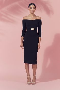 Shop the amazing Matea Designs BRIGIT DRESS Black online now, get FREE shipping on all orders over $100 in Australia. Pay via AfterPay & ZipPay. We ship WORLDWIDE! #style #aussieboutique #getthelookforless #onehoney #clothingboutique #zippay #ootd #afterpay #weshipworldwide #fashion  https://goo.gl/qvSb5E