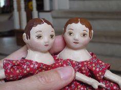 McNally School: Tiny Christmas Dolls!