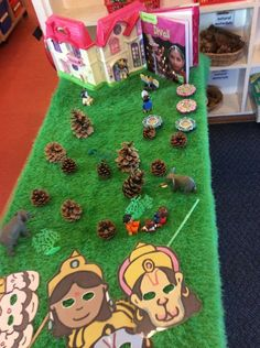 Diwali Small World - The story of Sita and Rama Diwali Activities, Eyfs Activities, Nursery Activities, Autumn Activities, Activities For Kids, Diwali Eyfs, Poppy Craft, Queen 90th Birthday, St Georges Day