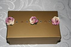 Triple Rose Favour By Nisha Page
