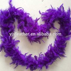Wholesale Craft Decoration Turkey Chandelle Feather Boa cheap