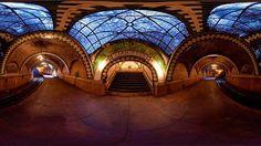 Hoy es posible conocer esta estación abandonada. Estación City Hall, Nueva York, Estados Unidos