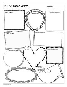 Happy New Year - Goal setting activity for students! A fun activity to start off the new year.