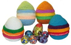 amigurumi huevos Pascua - Easter eggs