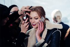Karlie Kloss - Backstage - GIF by Miguel Yatco