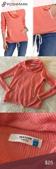 NWOT Sparrow Pullover This Pullover is in perfect condition! Size medium. No flaws. No trades. Smoke and pet free home. Reasonable offers accepted! Anthropologie Tops Sweatshirts & Hoodies