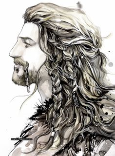 Bailey's Sketchbook: Sketches Of The Company Of Thorin Oakenshield (Fili)