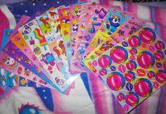 lisa frank stickers