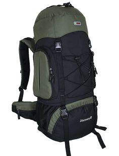 HBAG Discovery 80L 5400ci Internal Frame Camping Hiking Backpack >>> Find out more details by clicking the image : Backpacking bags