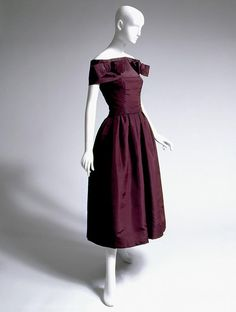 Christian Dior, Evening Dress, 1953-1954, Fashion Institute of Technology, New York