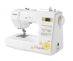 Janome Magnolia 7330 Sewing Machine from @fabricdotcom  The Magnolia 7330 is the most advanced machine in the Magnolia Line. Perfect for creating any kind of home decor or sewing project, it enables you to add your personal flair to your home and wardrobe. You'll get 30 decorative stitches, and lots of great automatic features. Incorporating the same Janome precision and technology that goes into all of our machines, the Magnolia 7330 helps you define yourself at a great price.<br><br…