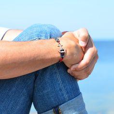 Tom Hope , Pacific Red anschor bracelet fashion nautical