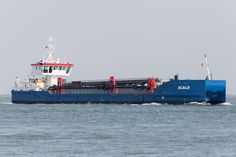 Faasse's latest dredger; SCALD (former FUTURA CARRIER) seen at Flushing roads.
