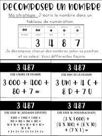 La classe de Karine: Nouveautés pour la 4e année -Mathématique French Teaching Resources, Teaching French, Primary Maths, 5th Grade Math, Cycle 3, Math Games, Math Lessons, Appris, Teacher