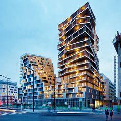 Bâtiment Home : Hamonic + Masson & Associés et Comte Vollenweider - ArchiDesignClub by MUUUZ - Architecture & Design