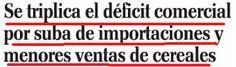 el blog de josé rubén sentís: desequilibrio negativo en el intercambio comercial...