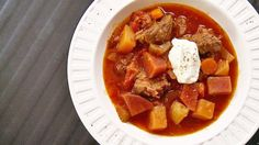 Borsh à la viande - Solutions gourmandes