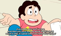 steven universe Steven Universe Quotes, Universe Love, Greg Universe, Danny Phantom, Steven Univese, Jewelry Quotes, Cartoon Network, Rwby, Conversation