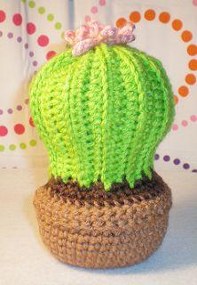 Crochet Cactus Garden