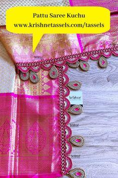 Saree Kuchu New Designs, Saree Jacket Designs, Cutwork Blouse Designs, Saree Tassels Designs, Saree Blouse Neck Designs, Bridal Blouse Designs, Latest Saree Blouse, Lehenga, Sarees