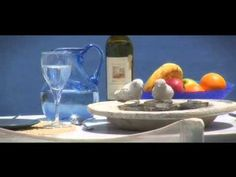 Magical Dream blue villa in Oia Santorini. Please note that jacuzzi shown in this video is now replaced by a beautiful mini pool,photos of pool and more on D. Mini Pool, Oia Santorini, Villa, Places, Blue, Petite Piscine, Fork, Villas, Kiddie Pool