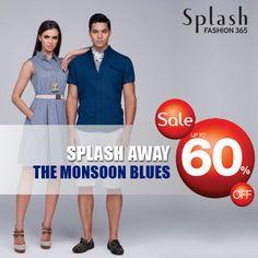 Splash away the #monsoon blues! #Sale