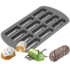 Wilton 21053646 NonStick 12Cavity Delectovals Cake Pan ** Check this awesome product by going to the link at the image.