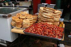 street food in Xi'an China