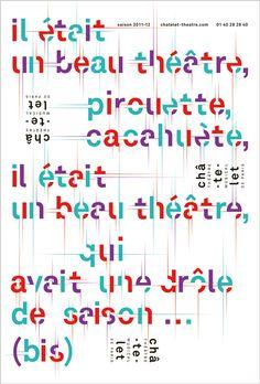 Il était un drôle de théâtre...  www.apeloig.com    Phillipe Apeloig