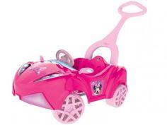 Carro Infantil Disney Minnie com Empurrador - Xalingo
