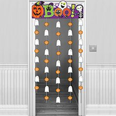 Family Friendly Door Curtain - 1.9m Halloween Decoration