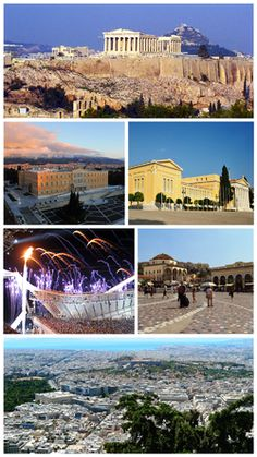 Athens is the capital and largest city of Greece. Athens dominates the Attica region and is one of the world's oldest cities, as its recorded history spans around years. Classical Athens was a powerful city-state. Athens Hotel, Athens Greece, Classical Athens, Places To Travel, Places To Visit, Destinations, Greece Travel, Greece Trip, Visit Greece