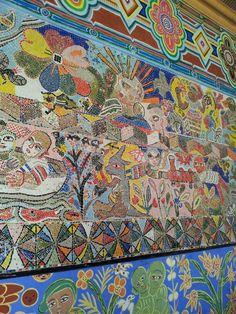 Mural outside flinders st station