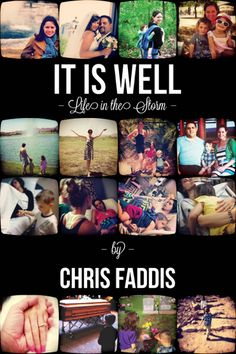 It Is Well by Chris Faddis – Angela Christine Faddis of Gilbert, Ariz., died on Friday, September 21, 2012, after a 17-month battle with Stage IV Colon Cancer. Chris and Angela used social media to spread their story and teach people how to trust God amidst their earthly struggle. Click here to read the full story and to listen to the interview with Chris Faddis: http://catholicfoodie.com/chris-and-angela-faddis-it-is-well-life-in-the-storm