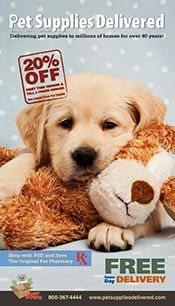 Pet Supplies Delivered free shipping