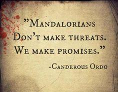 Mandolorian Quote