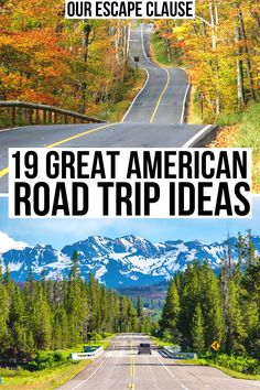 19 Best Road Trips in the USA (Itinerary Ideas + Tips!) Looking for the best road trips in the USA? From weekend getaways to long adventures, here's how to create the perfect USA road trip itinerary for you! Road Trip Florida, Us Road Trip, Road Trip Hacks, Road Trip Food, Best Road Trips, Perfect Road Trip, Travel Blog, Travel Usa, Travel Ideas