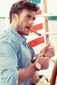 Clint Eastwood's Son Scott Eastwood in Town and Country | ETonline.com