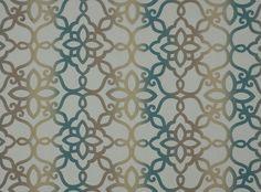 Maroc Sheer Peacock | Zagora | VillaNova | Upholstery Fabrics, Prints, Drapes & Wallcoverings