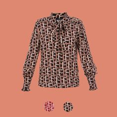 Looking 4 the new collection  It s right here! Camicia stampa logo  Elisabetta Franchi   1aa8b4eab43