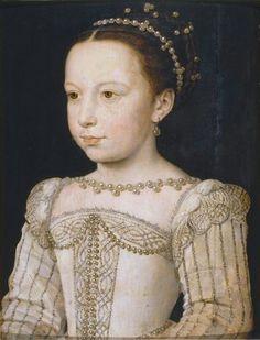 Marguerite de France (1553-1615) — Marguerite (vers 1560) par François Clouet.