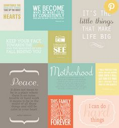 Inspiring Free Printable Scripture Verses and more for Project Life and journaling