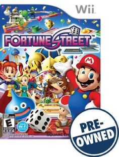 Fortune Street — PRE-Owned - Nintendo Wii, PREOWNED