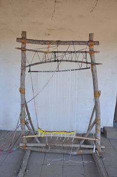 Hand crafted Weaving Loom