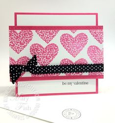 Stampin Pretty, Stampin Up, Valentine Day Cards, Be My Valentine, Valentine Ideas, Mary Fish, Ps I Love, Gifts For Photographers, Card Making Inspiration