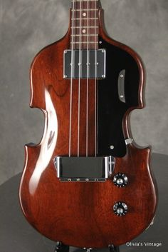 1969 Gibson EB-1 Bass. Holy Christ this is beautiful.