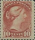 [Queen Victoria - Size: 17 x 21mm, type J8]
