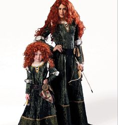 Disney Brave Merida Princess or Vampire Costume Sewing Pattern - Adult/Miss, McCalls 6817, NEW! S-XL